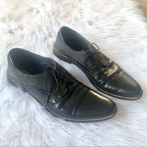 Steve Madden leather men's dress shoes, 12